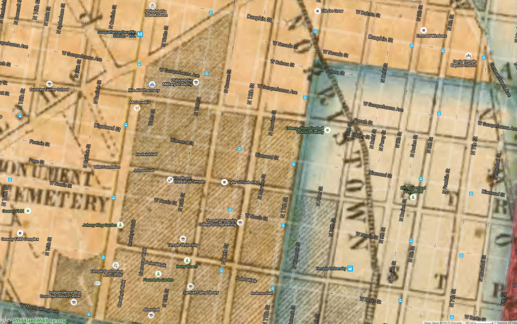 Maps Norris Homes Philly